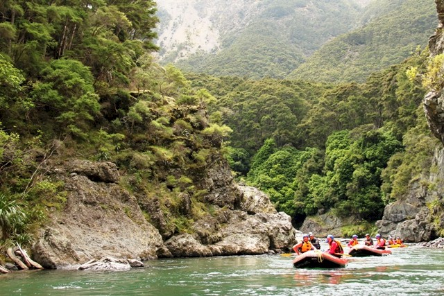 Commercial trips can be organised on the Ngaruroro River